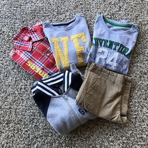 Lot of Size 8 Boys Clothes (T-shirts,shorts,polo)